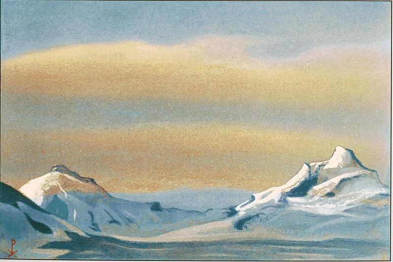 Гималаи #80 Луч солнца в облаках. Рерих Н.К. (Часть 6)