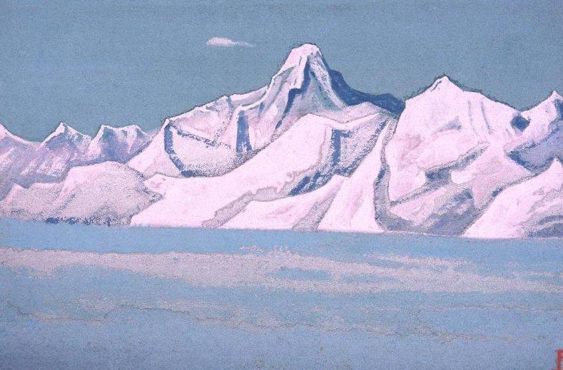 Nanda Devi (Nanda Devi). Roerich N.K. (Part 6)