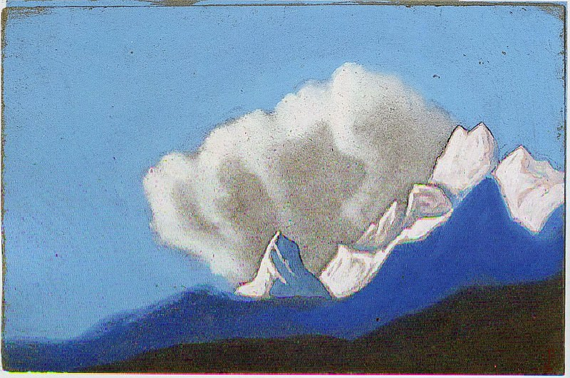 The Himalayas # 108. Roerich N.K. (Part 6)