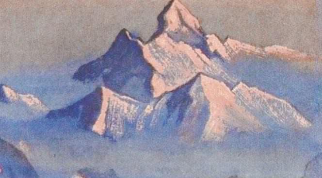 Nanda Devi # 64. Roerich N.K. (Part 6)