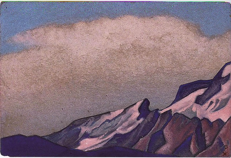 The Himalayas # 144. Roerich N.K. (Part 6)