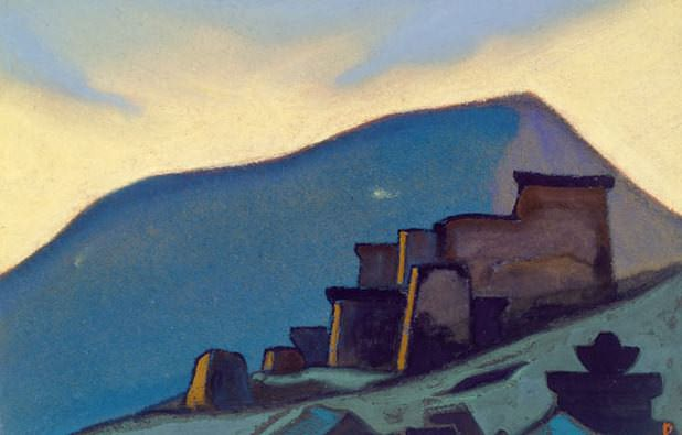 Tibet # 98 Tibet (Convent). Roerich N.K. (Part 6)