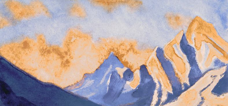The Himalayas # 96 The Magic World of Beauty. Roerich N.K. (Part 6)