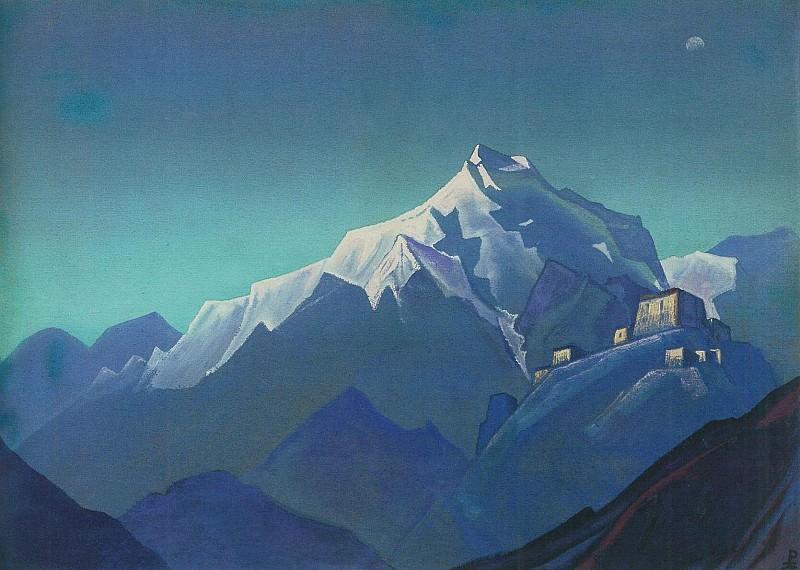 # 103 Tibet (Tibet. Convent). Roerich N.K. (Part 6)