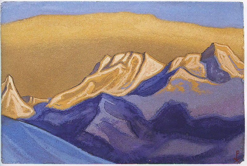 The Himalayas # 18. Roerich N.K. (Part 6)