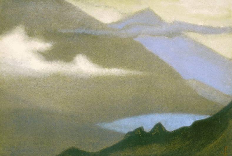 Гималаи #114 Ненастье. Рерих Н.К. (Часть 6)