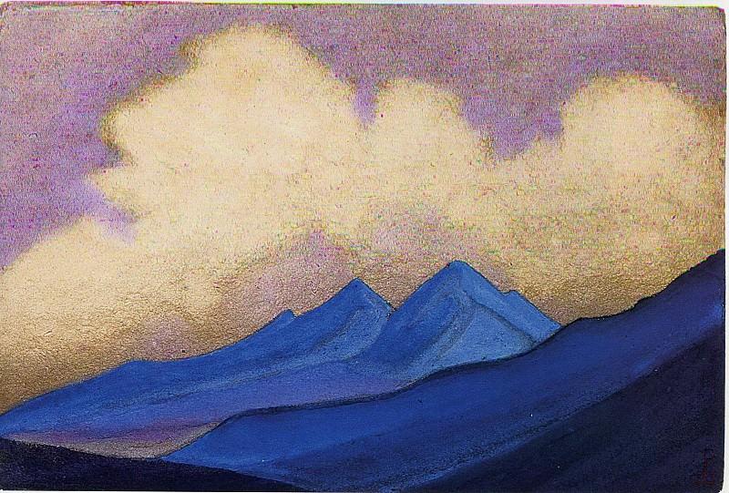Haze over Khotan. Roerich N.K. (Part 6)