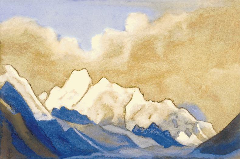Гималаи #112 Приграничные снега. Рерих Н.К. (Часть 6)
