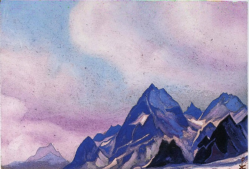 The Himalayas # 193. Roerich N.K. (Part 6)