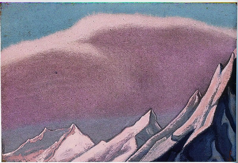 The Himalayas # 32. Roerich N.K. (Part 6)