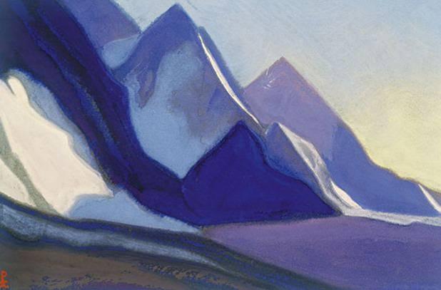 Ladak # 101 Ladak (Harmony peaks). Roerich N.K. (Part 6)