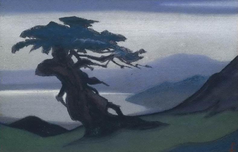 Священное древо #197 (Дерево). Рерих Н.К. (Часть 6)