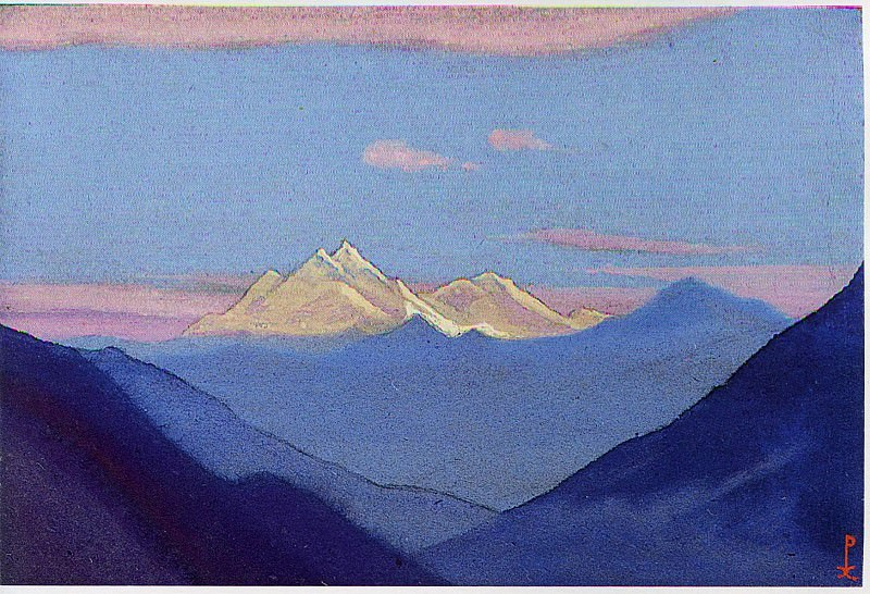 Himalayas # 6. Roerich N.K. (Part 6)