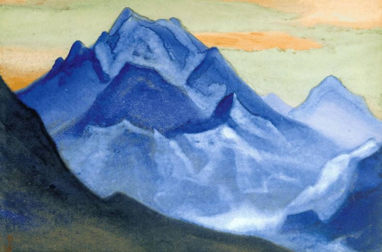 The Himalayas # 113 The Stone Flower. Roerich N.K. (Part 6)