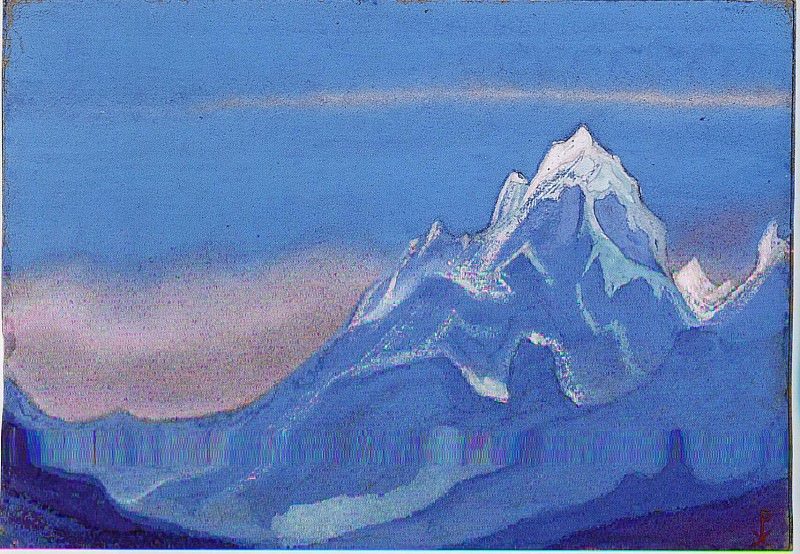The Himalayas # 116. Roerich N.K. (Part 6)