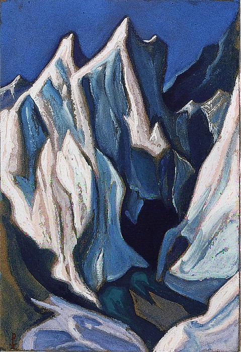 The Himalayas # 31. Roerich N.K. (Part 6)
