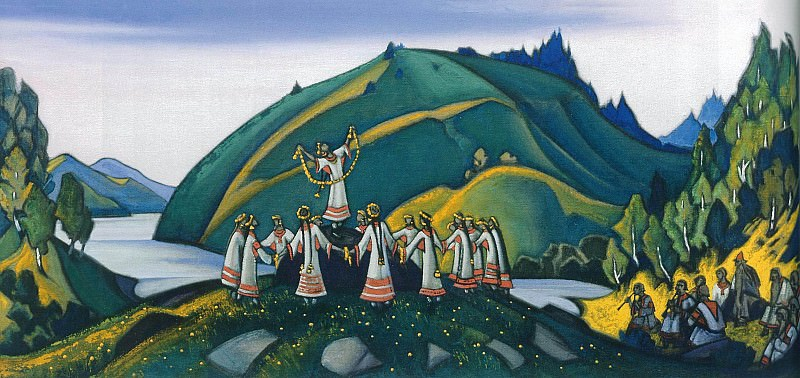The Rite of Spring # 32 (The Rite of Spring). Roerich N.K. (Part 6)