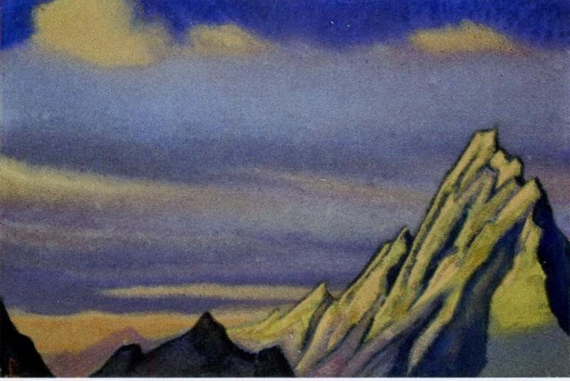 Great wall # 37. Roerich N.K. (Part 6)