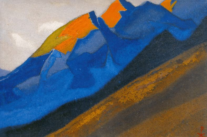 Kuluta # 90 Kuluta Orange vertex). Roerich N.K. (Part 6)