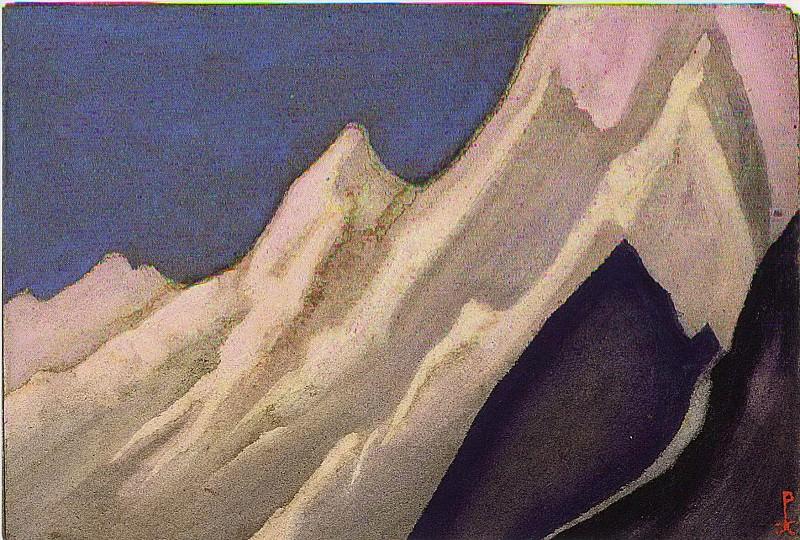 Himalayas # 56. Roerich N.K. (Part 6)