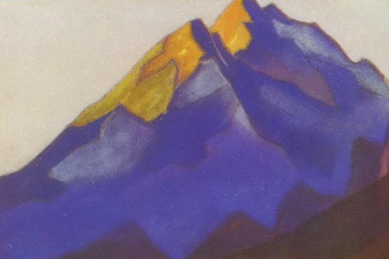 Kuluta # 91 (Burning vertex). Roerich N.K. (Part 6)