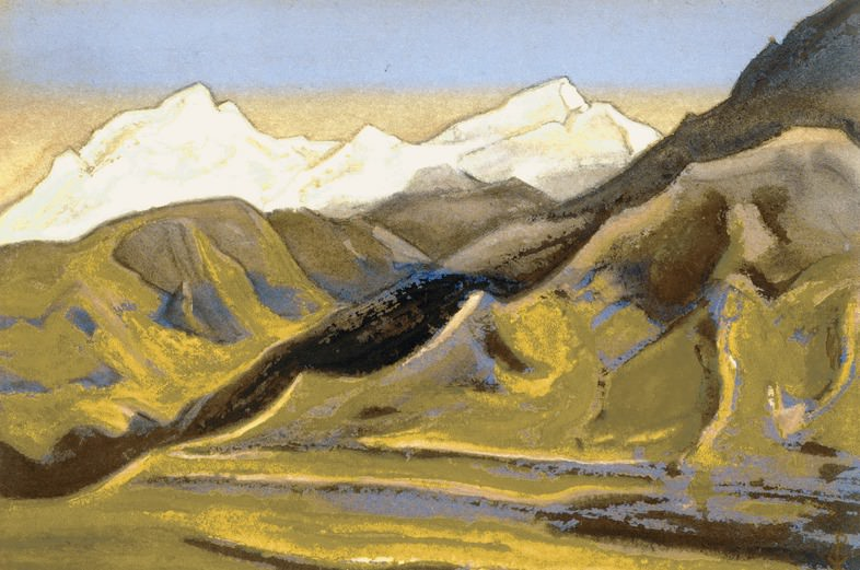 The Himalayas # 60 Far Watch. Roerich N.K. (Part 6)