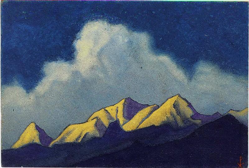 Sikkim. Roerich N.K. (Part 6)