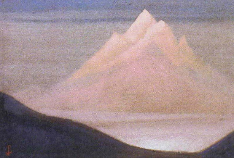 The Himalayas # 64 The Snow Flower. Roerich N.K. (Part 6)