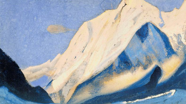 The Himalayas (Heavenly Light) # 28. Roerich N.K. (Part 6)