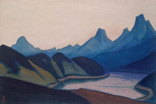 China # 113 China (Secret Lake). Roerich N.K. (Part 6)