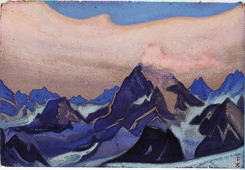 The Himalayas # 19. Roerich N.K. (Part 6)