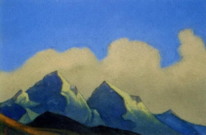 Гималаи #45 Острые вершины. Рерих Н.К. (Часть 6)