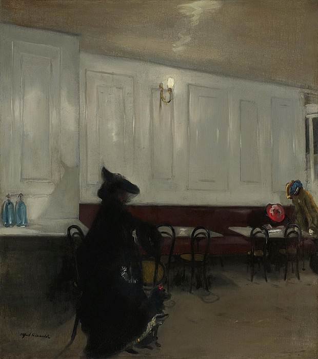 Alfred Henry Maurer - The Rendezvous, 1904-05. Sotheby's