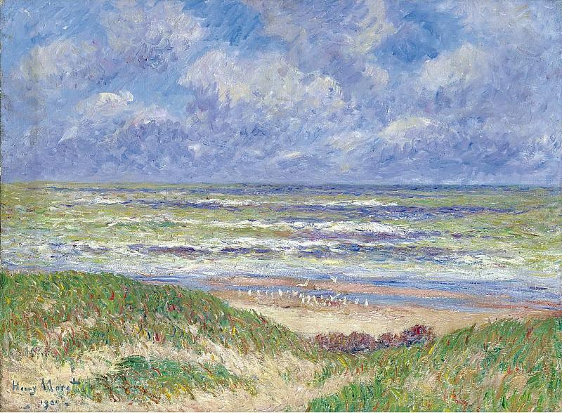 Henry Moret - Nothern Sea, 1900. Картины с аукционов Sotheby's