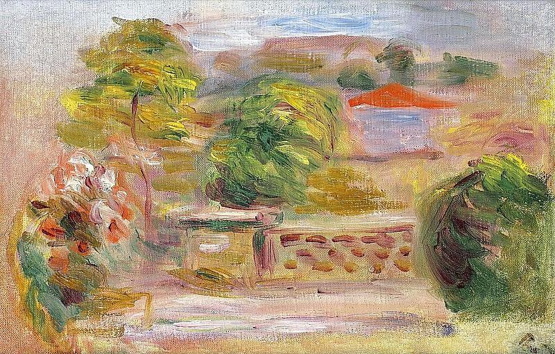 Pierre Auguste Renoir - Landscape 03. Sotheby's