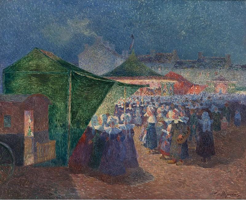 Ferdinand du Puigaudeau - The Fair Festival. Sotheby's