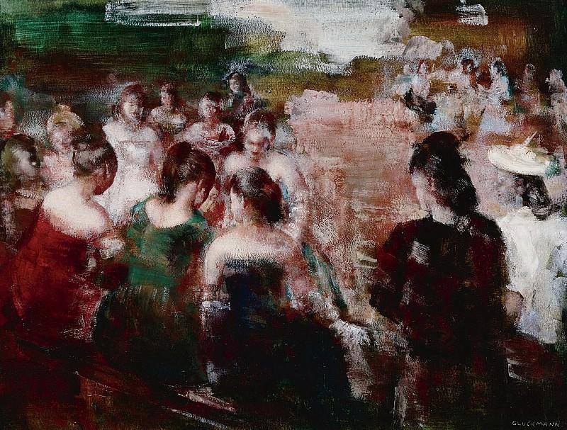 Grigory Gluckmann - Social Circle. Sotheby's