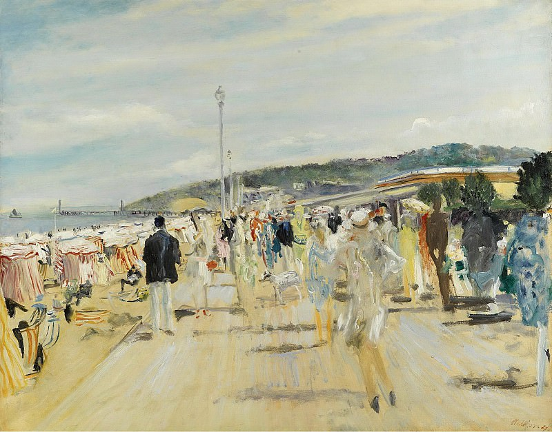 Lucien Adrion - Deauville, 1929. Картины с аукционов Sotheby's
