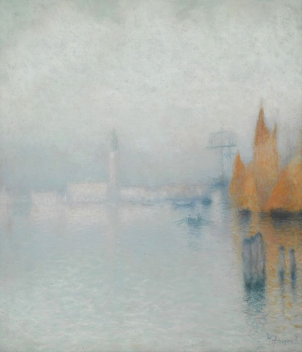 Lucien Levy-Dhurmer - Venice 01. Sotheby's