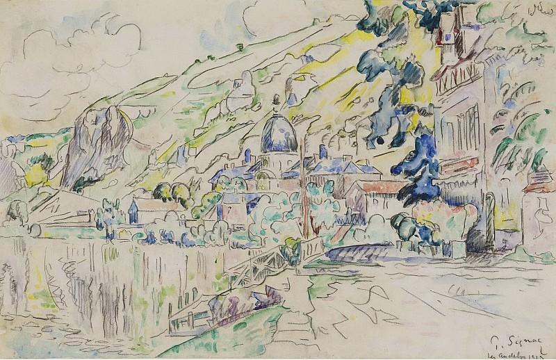 Paul Signac - Les Andelys, 1923 01. Sotheby's