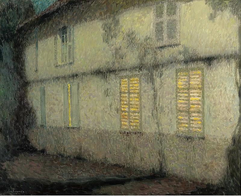 Henri Le Sidaner - Shutters Closed, Gerberoy, 1933. Sotheby's