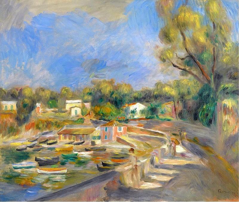Pierre Auguste Renoir - Cagnes Landscape, 1910 01. Sotheby's