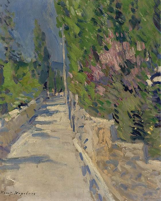 Constantin Korovin - Gurzuf Landscape. Sotheby's