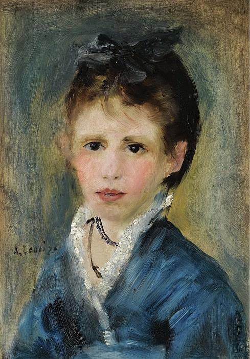 Pierre Auguste Renoir - Mademoiselle Marthe Le Coeur, 1873. Sotheby's