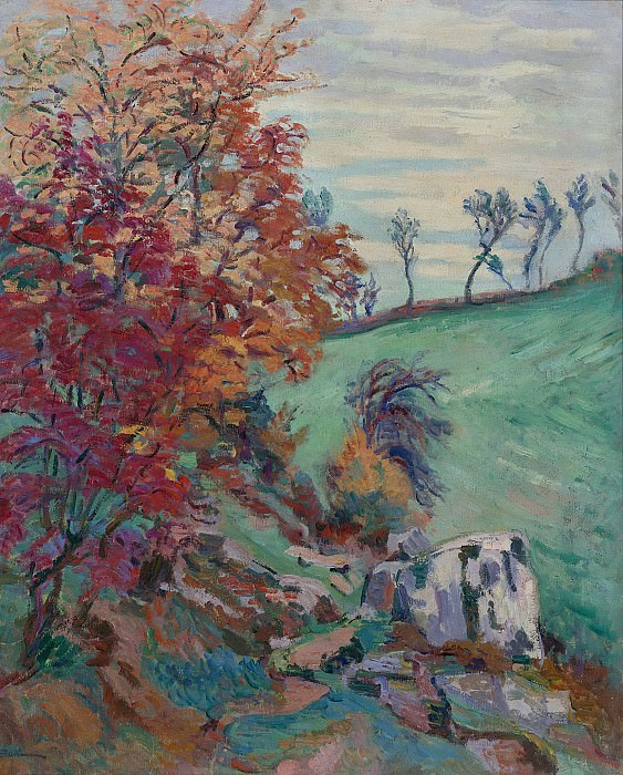 Armand Guillaumin - The Creuse, 1902. Sotheby's