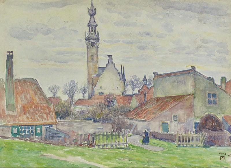 Theo van Rysselberghe - Veere, 1896. Sotheby's