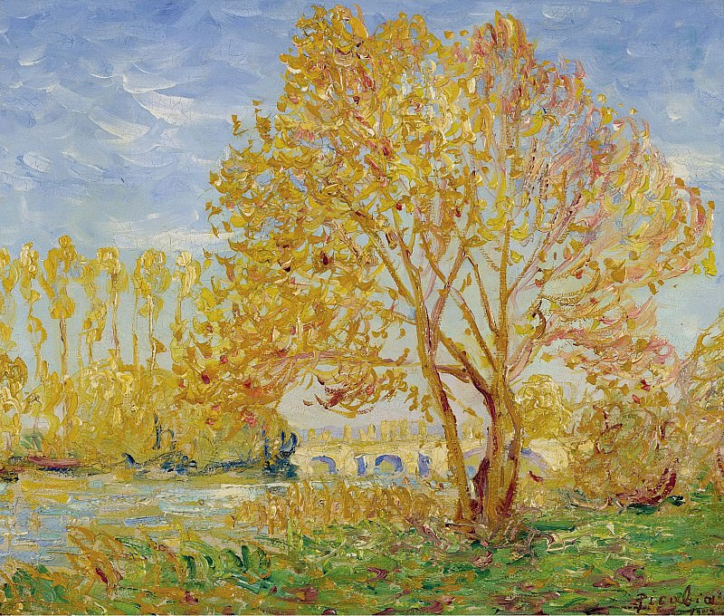 Francis Picabia - Effect of Autumn, 1907. Картины с аукционов Sotheby's