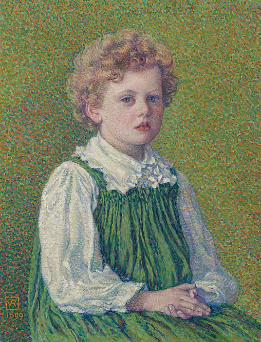 Theo van Rysselberghe - Margery, 1899. Sotheby's