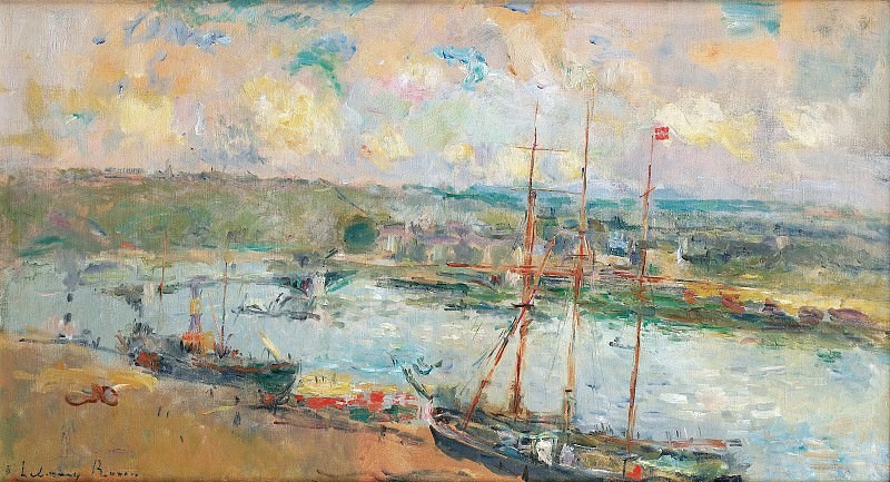 Albert Lebourg - Rouen and Saint-Sever, 1900. Sotheby's