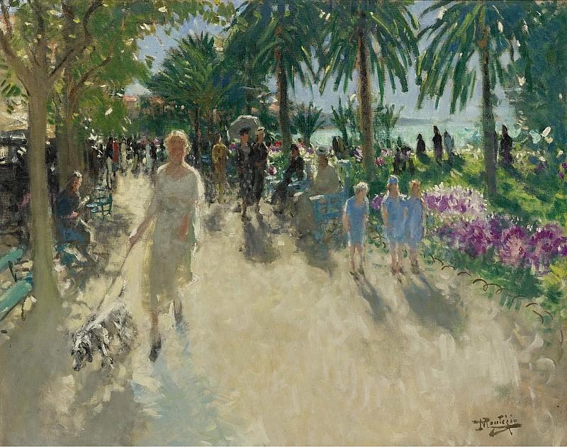 Pierre-Eugene Montezin - La Croisette, Cannes. Sotheby's